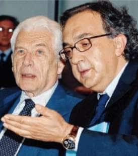 GIANLUIGI GABETTI E SERGIO MARCHIONNE