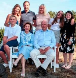 la famiglia reale norvegese 3