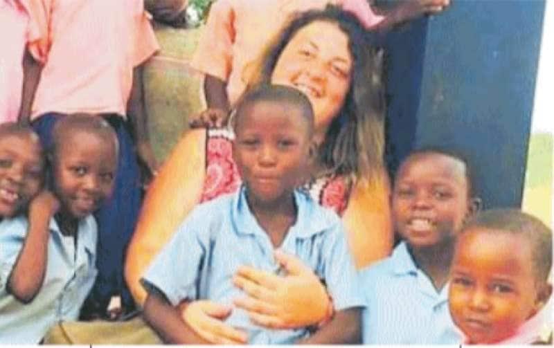 Lilian Sora della Onlus Africa Milele