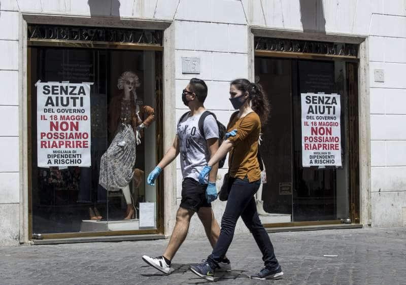 protesta dei commercianti del centro di roma 11