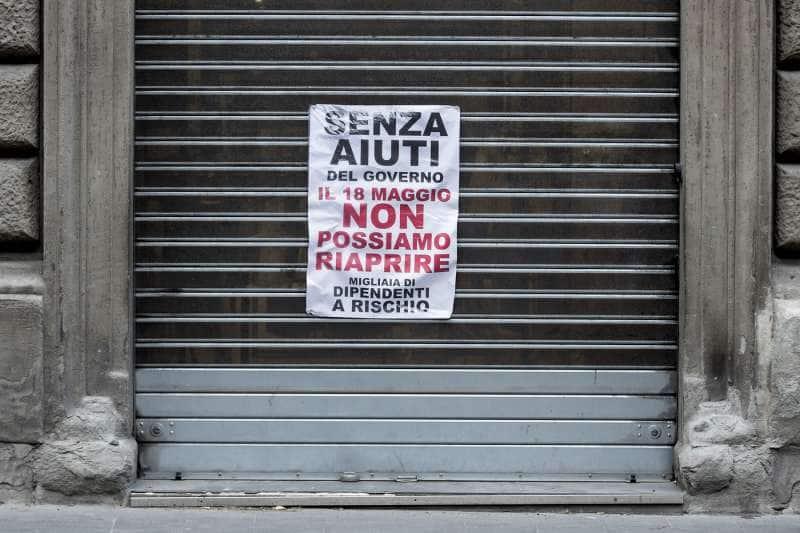 protesta dei commercianti del centro di roma 15