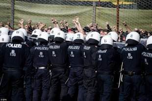 austria esercitazione anti migranti 2
