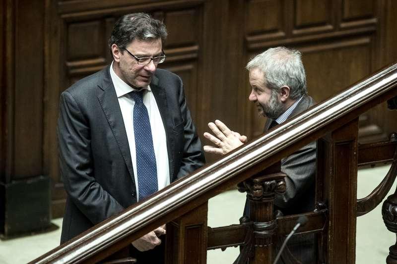 GIANCARLO GIORGETTI E CLAUDIO BORGHI