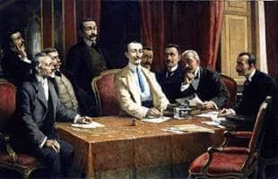 i fondatori della fiat di lorenzo delleani al centro emanuele cacherano di bricherasio