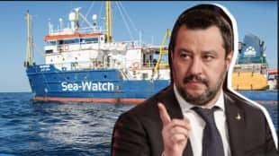 sea watch salvini