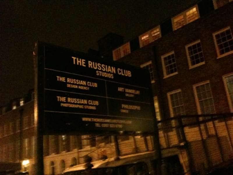 Russo sito di incontri Londra incontri un ragazzo di Wall Street