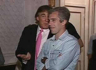 donald trump con jeffrey epstein 1