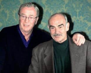 Michael Caine and Sean Connery michael caine