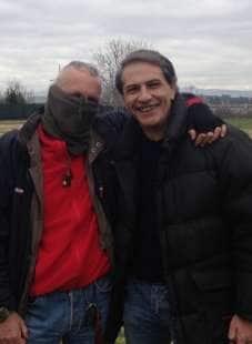 lorenzo crespi e il capitano ultimo sergio de caprio