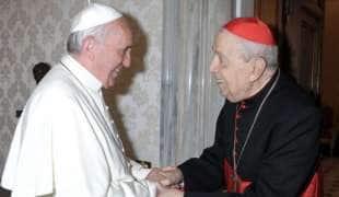 achille silvestrini con papa francesco 3