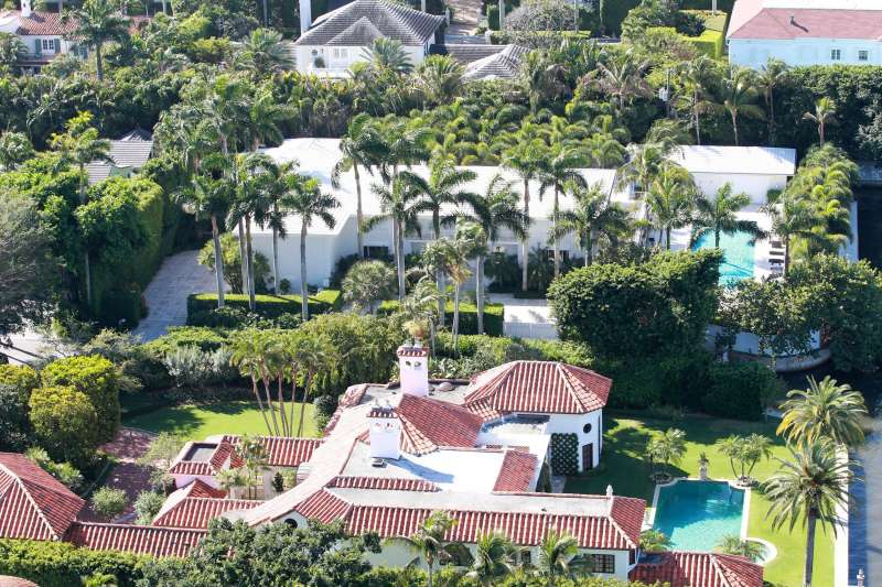 la casa di jeffrey epstein a palm beach 2