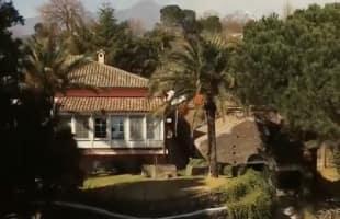 la casa di milo di franco battiato villa grazia 1