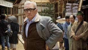 martin scorsese sul set di the irishman 1