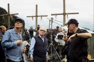martin scorsese sul set di the irishman