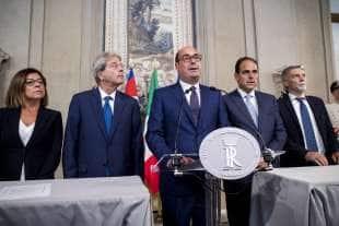 paola de micheli paolo gentiloni nicola zingaretti andrea marcucci graziano delrio 2