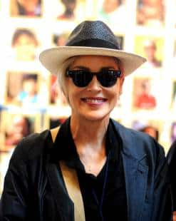 sharon stone all'expo