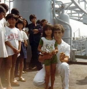 22 bimbi vietnamiti sulle navi italiane