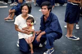 31 vietnamiti sulle navi italiane foto roberto vivaldi