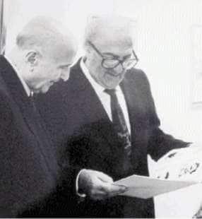 Gustavo Adolfo Rol e Federico Fellini