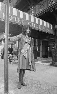 germaine greer al chelsea hotel