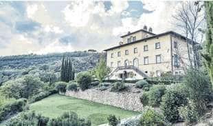palazzo terranova - la villa di proprieta' del magnate evghenj lebedev a perugia