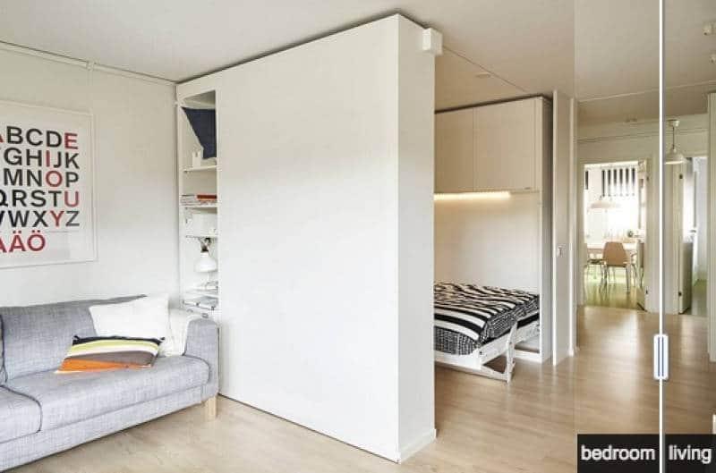 Cabina Armadio A Muro Ikea.Il Futuro Di Ikea Le Pareti Mobili Per Trasformare Il Salotto In