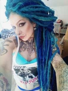 lady blue 4