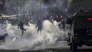 scontri e proteste in cile 2