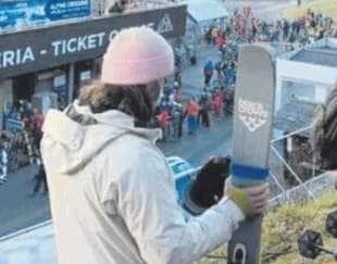 folla a cervinia all apertura delle piste