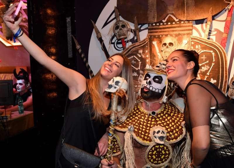 Festa Di Halloween A Roma.L Halloween Piu Porcellino Di Roma Il Macumba Party Del