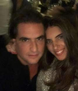 Alex Nain Saab Moran e Camilla Fabri