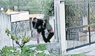 antonino borgia uccide ana di piazza i fotogrammi delle telecamere di sorveglianza