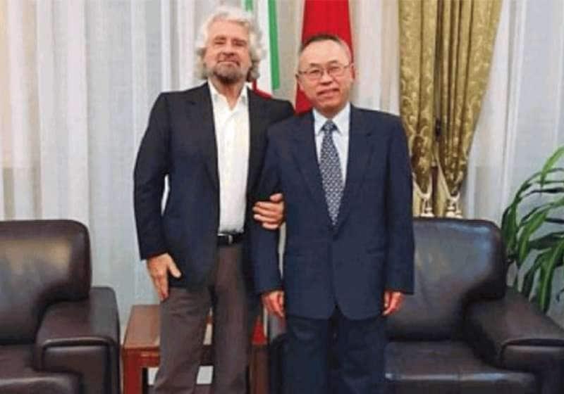 retroscena dall'incontro grillo-ambasciatore cinese - 5g, affari ...