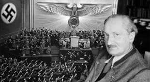 martin heidegger nazista