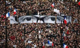 christopher furlong manifestazione a parigi dopo charlie hebdo