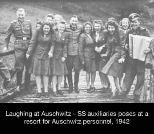 le risate del personale di auschwitz 1942