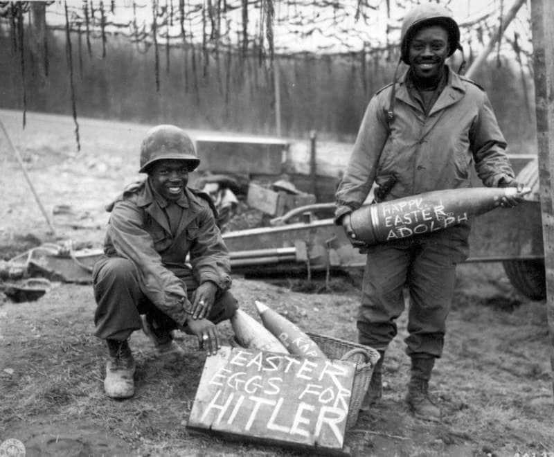soldati americani in germania 1944