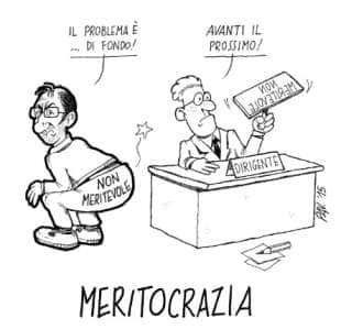 IL MITO DELLA MERITOCRAZIA
