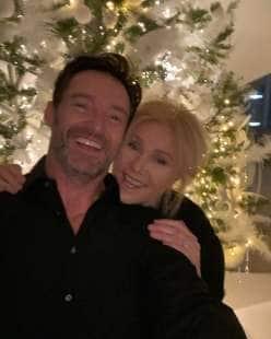 hugh jackman con moglie
