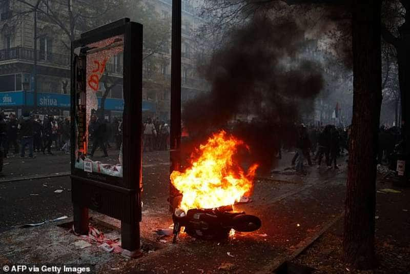 sciopero generale in francia 22