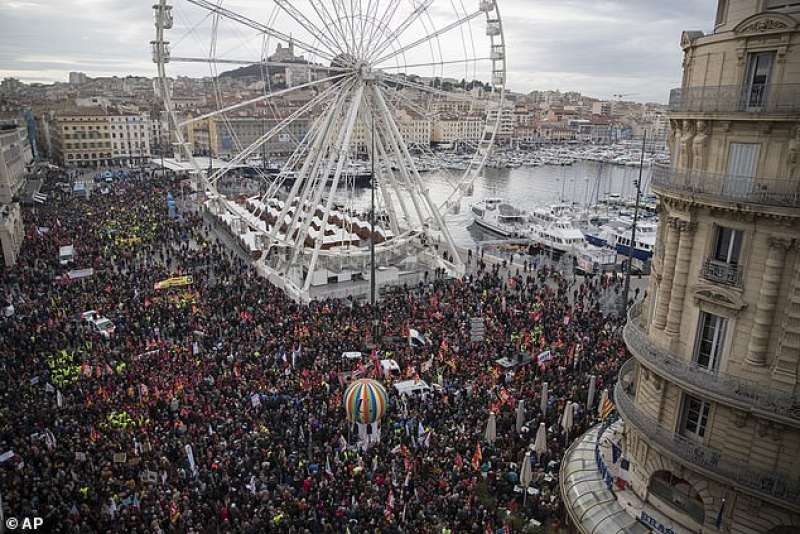 sciopero generale in francia 27