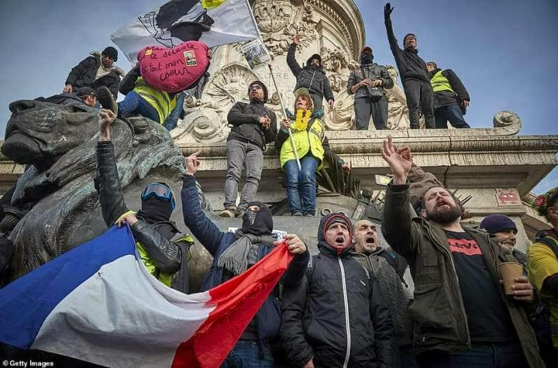 sciopero in francia tredicesimo giorno 18