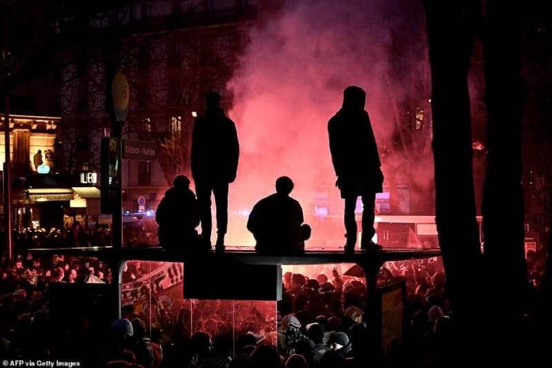 sciopero in francia tredicesimo giorno 24