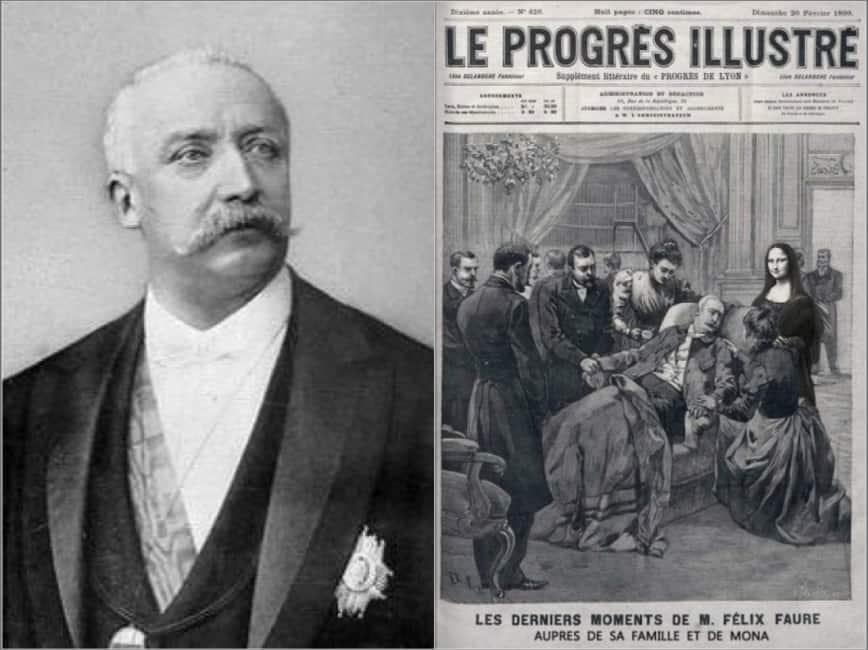 LA POMPA È FUNEBRE - LA STORIA DEL PRESIDENTE FRANCESE, FELIX FAURE, MORTO DURANTE UN POMPINO PRATICATO DALLA SUA AMANTE, ...