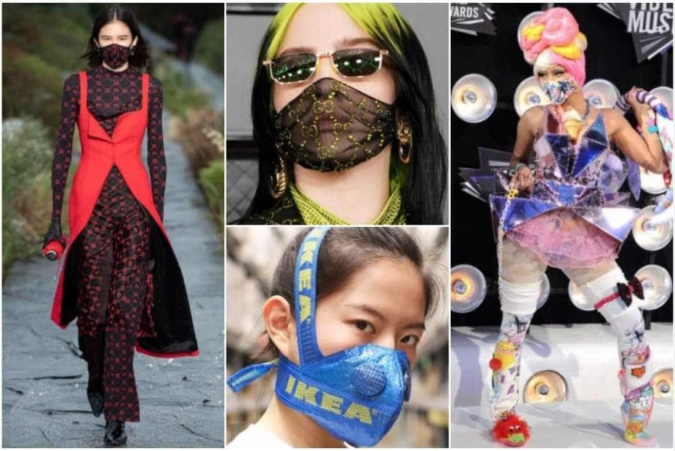 mascherina antivirus in inglese