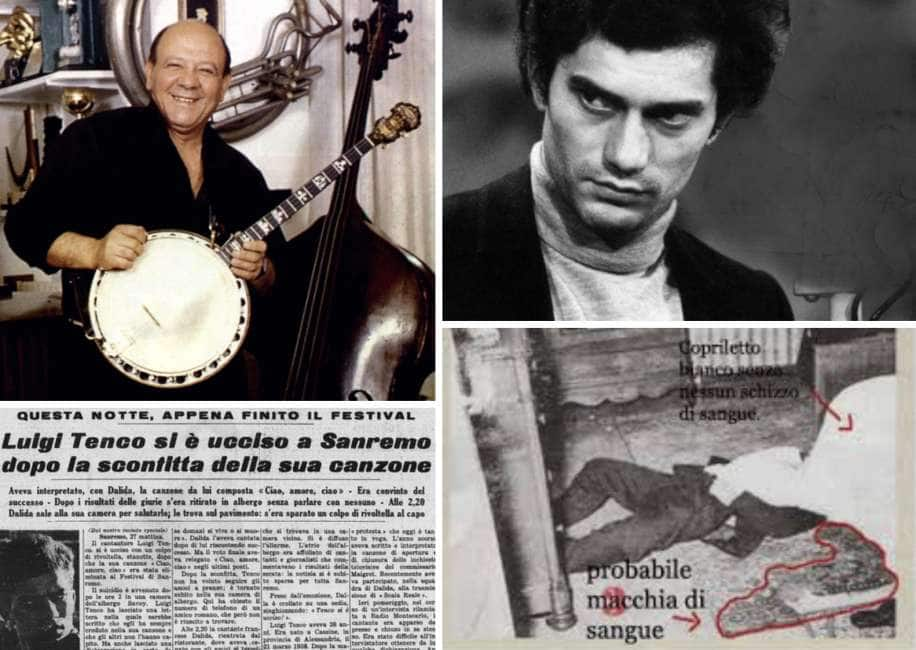 """""""MA QUALE SUICIDIO, LUIGI TENCO FU AMMAZZATO!"""" - LE RIVELAZIONI DI LINO PATRUNO, GRANDE AMICO DEL CANTAUTORE GENOVESE,..."""