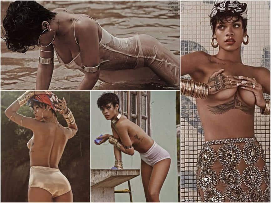 Rihanna porno