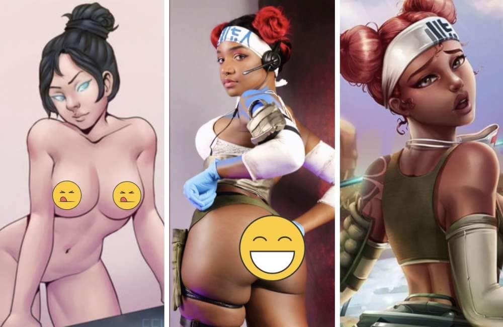 porno video gioco Lesbica Ebano bottino