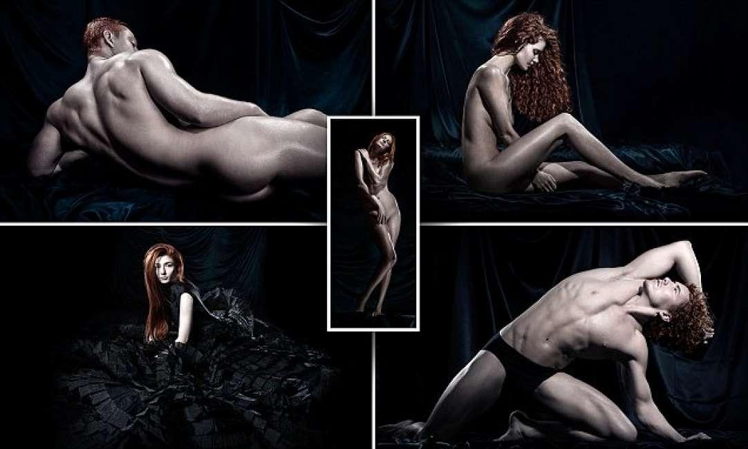 bellissimi modelli di nudo video