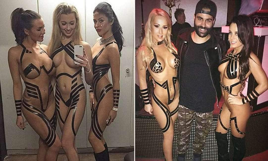 Ragazze nelle foto nude